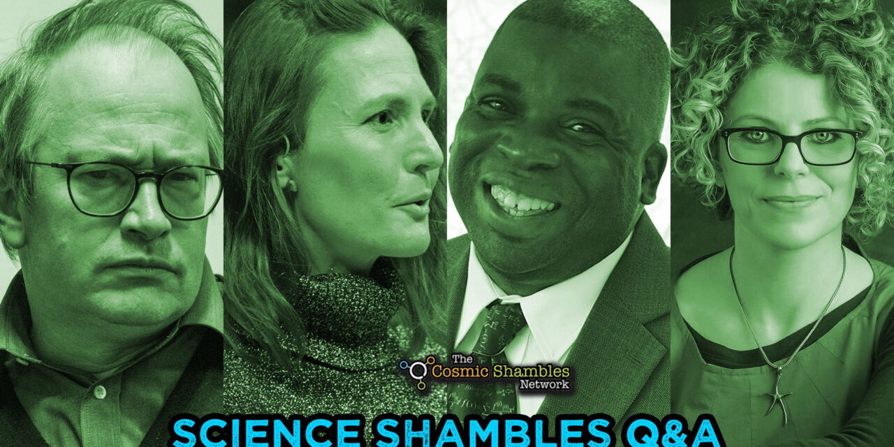 Nira Chamberlain and Helen Scales – Science Shambles September 27th