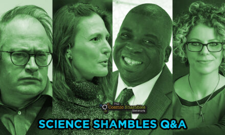 Nira Chamberlain and Helen Scales – Science Shambles September 27th