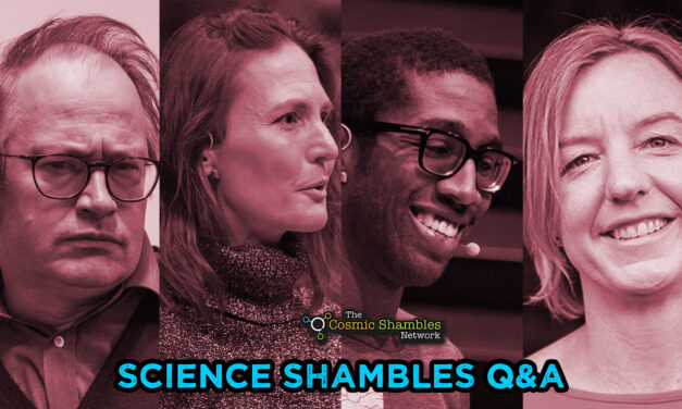 RI Christmas Lecturers Special – Science Shambles September 6th