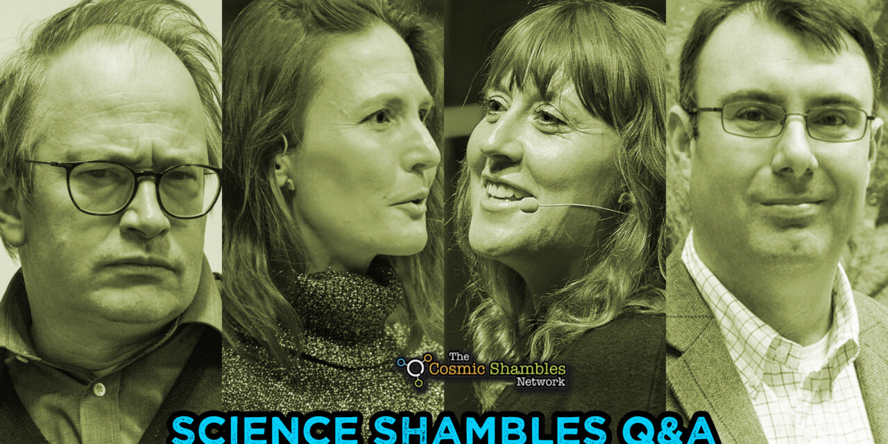 Susie Maidment and Paul Barrett – Science Shambles September 13th