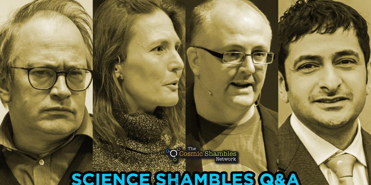 Dean Burnett and Navneet Kapur – Science Shambles October 18th