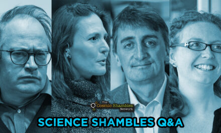 Jon Copley and Stephanie Henson – Science Shambles October 25th