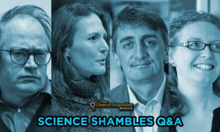 Jon Copley and Stephanie Henson – Science Shambles October 25th