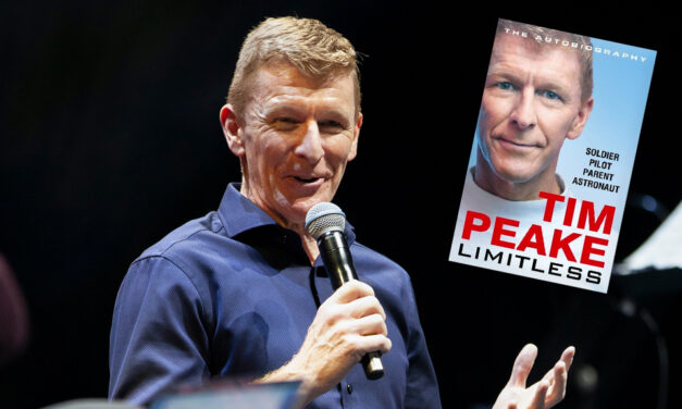 Tim Peake – Science Book Shambles