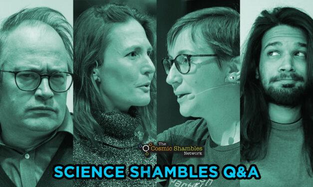 Linda Cremonesi and Achintya Rao – Science Shambles October 4th