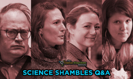 Tori Herridge and Suzie Pilaar Birch – Science Shambles October 11th