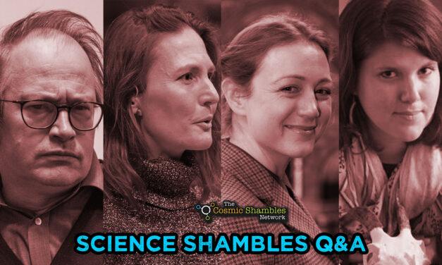Tori Herridge and Suzie Pilaar Birch – Science Shambles October 11th