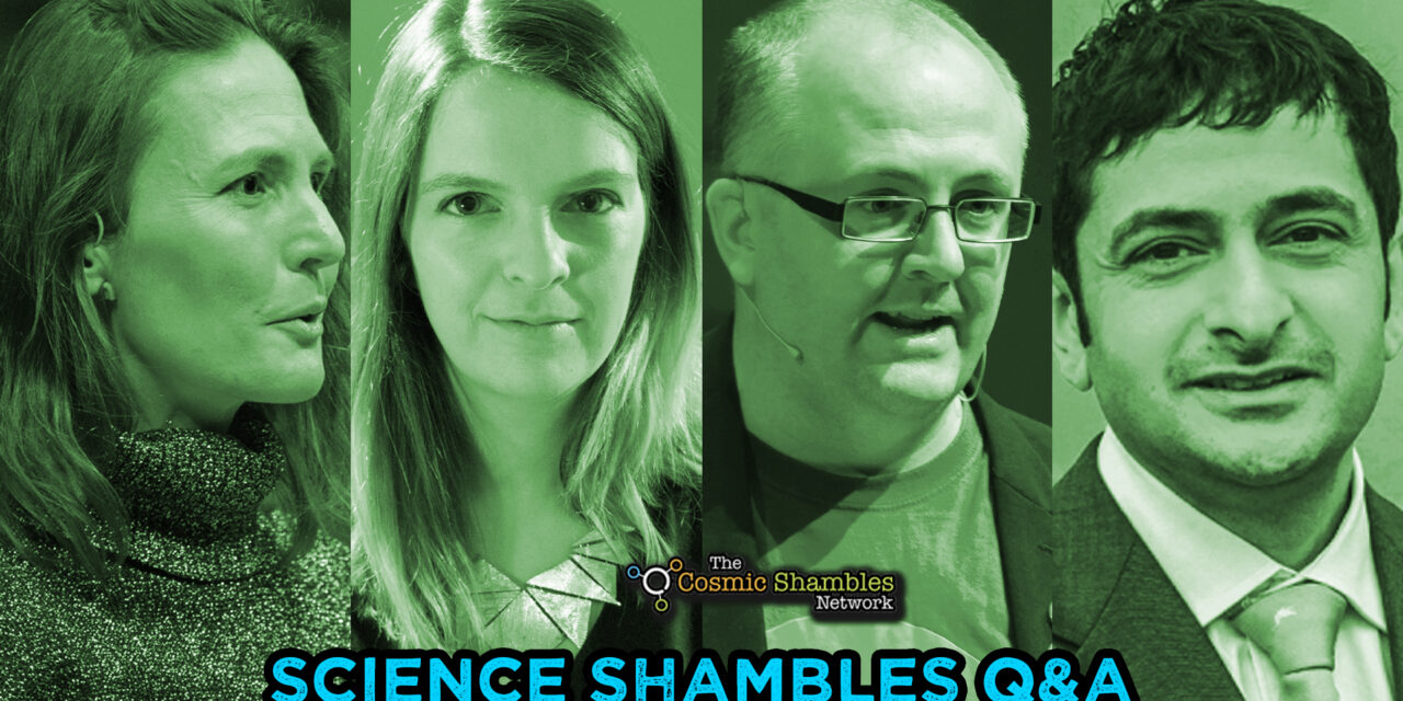 Suzi Gage, Dean Burnett and Nav Kapur – Science Shambles November 8th