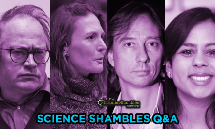 Stuart Clark and Sheila Kanani – Science Shambles November 1st