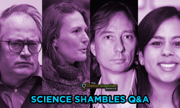 Stuart Clark and Sheila Kanani – Science Shambles November 1st
