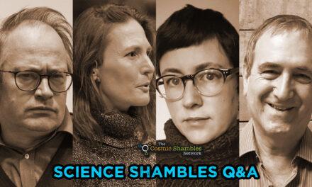 Chris Stringer and Rebecca Wragg Sykes – Science Shambles November 15th