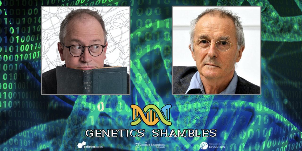Steve Jones in Conversation – Genetics Shambles