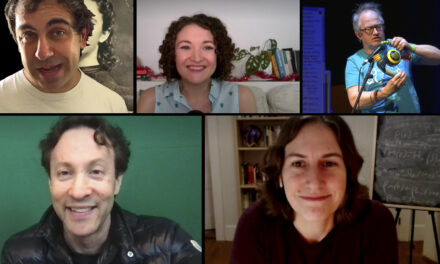 Katie Mack, David Eagleman, Ginny Smith and Yianni – #NineLessons24 – Part 14