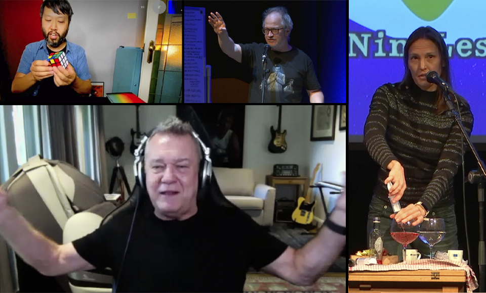 Jimmy Barnes, Helen Czerski and Lawrence Leung – #NineLessons24 – Part 17