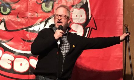 Back on the Road Again – Robin Ince