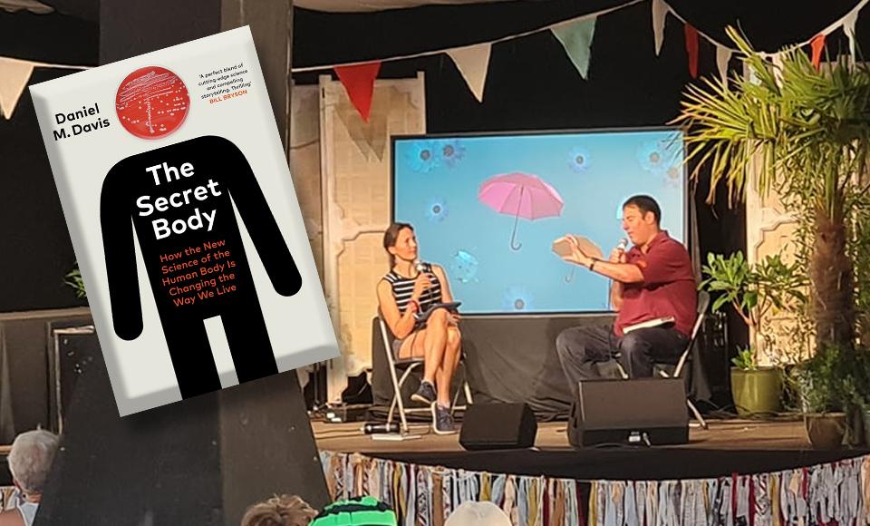 Dan Davis – Book Shambles Live at Latitude with Helen Czerski