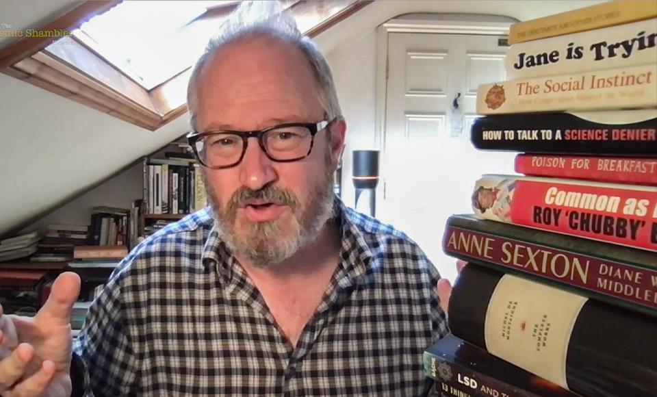 How I Read So Many Books – Robin Ince