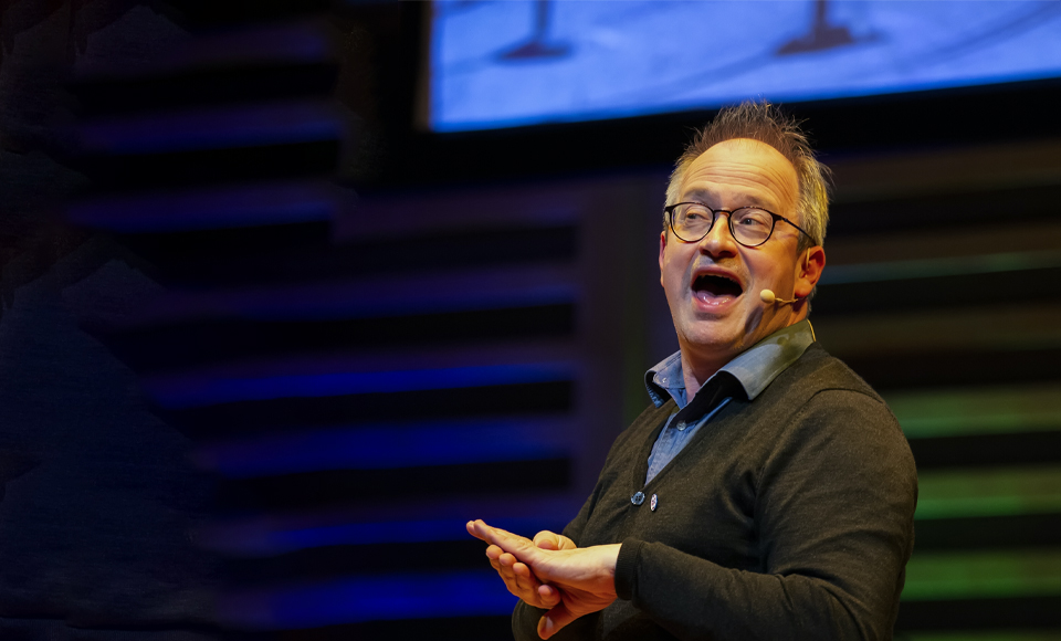 The Possible Uses of Stand Up – Robin Ince