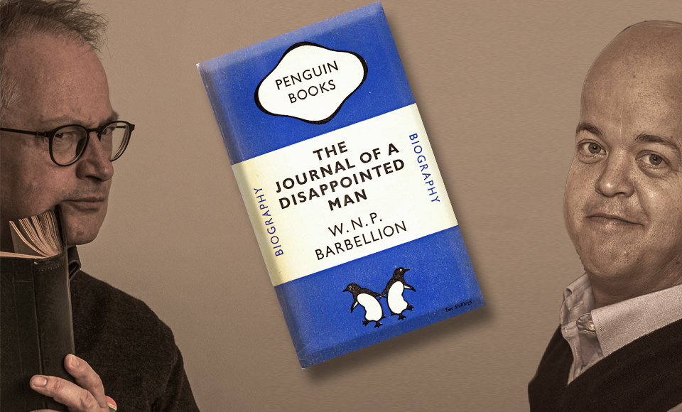 The Journal of a Disappointed Man with special guest Tom Shakespeare – A Book You Might Not Know
