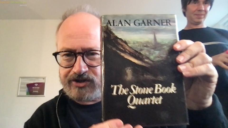 Does Brian Cox Like Alan Garner – Robin Ince's Canterbury Book Haul