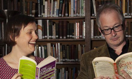 Josie and Robin and the Books on Their Desks – Book Shambles