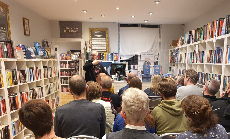 It's Bookshop Day!  –  Robin Ince