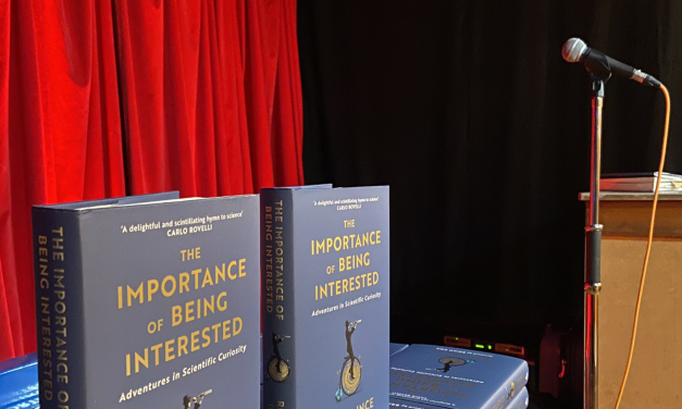 The Fear of An Unattended Event – Robin Ince