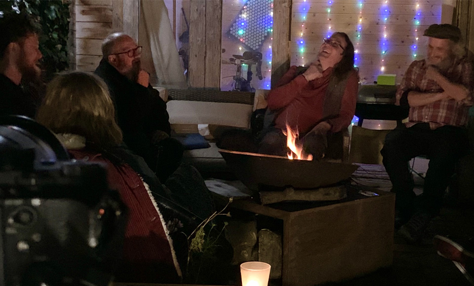 A Book Launch by the Fire – Robin Ince